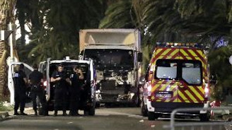 84 kişinin öldüğü saldırıdan saniyeler sonra