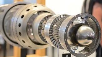 Üç boyutlu yazıcıyla Jet motoru yapıldı
