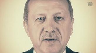Cumhurbaşkanı Erdoğan tanıtım filminde oynadı