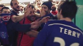 PSG taraftarından Chelsea taraftarına komik ırkçılık videosu