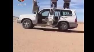 Arabaya araba gibi davranmayan Arap'lar!
