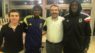 Sow ve Demba Ba'nın döner keyfi