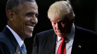 Obama'dan Trump'a: 'Ağlamayı kes'