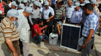Yetiştiricilere güneş paneli desteği