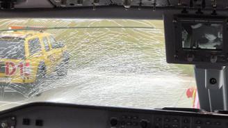 Fenerbahçe'nin uçağı acil iniş yaptı