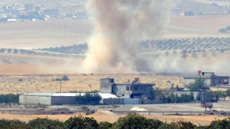 Muhaliflere varil bombası atıldı