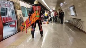 Şişhane metro durağında intihar girişimi
