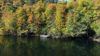 'Saklı cennet'te sonbahar renkleri