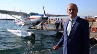 Deniz uçağı seferleri tekrar başladı