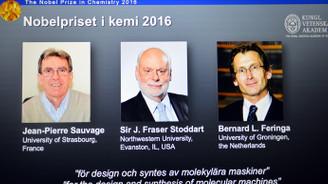 Kimya Nobel'i sahiplerini buldu