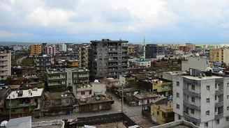 Terörden temizlenen İdil'e villa tipi 340 konut
