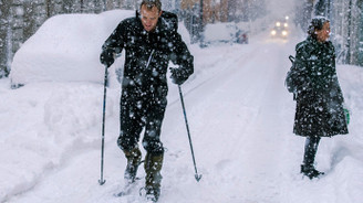İsveç'e rekor kar!