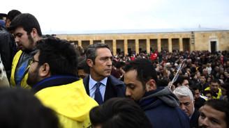 Ali Koç ve Fenerbahçeliler Anıtkabir'de