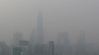 Çin'de hava kirliliğinde sarı alarm verildi