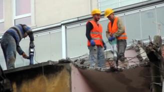 İş kazalarında inşaat ilk sırada