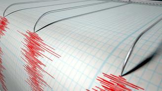 Ege'de bir saatte 9 deprem oldu