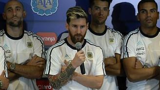 Messi'li Arjantin takımından medyaya boykot