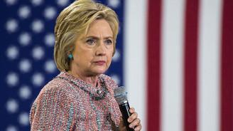 Clinton ilk kez halkın karşısına çıktı