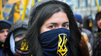 Kiev'de protesto