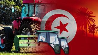 Tunus'ta traktörlere Türk malı kabinler takılacak