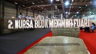 2. Bursa Blok Mermer Fuarı açıldı