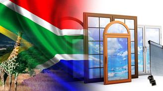 Güney Afrika evlerinin kapısı, penceresi Türkiye'den