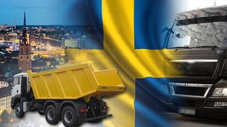 Damperli şasilerimiz İsveç yolcusu