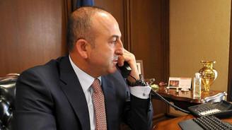 Çavuşoğlu, Ukraynalı mevkidaşıyla görüştü