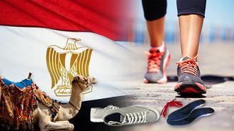 Mısır'da spor ayakkabılarında Türk hammaddesi kullanılacak