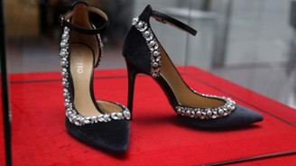57 bin liralık ayakkabı fuarda satıldı
