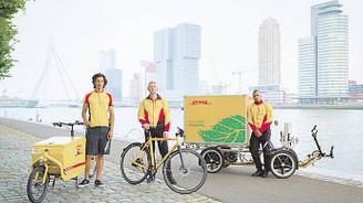 DHL, bisikletli kuryelerle sürdürülebilir şehirler yaratıyor