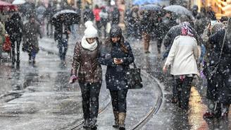 Yurdun büyük bir bölümüne kar geliyor