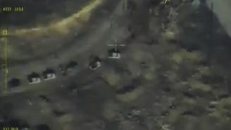Halep'te konvoya saldırı