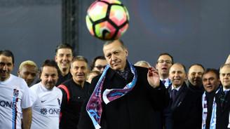 Erdoğan'dan ilk başlama vuruşu