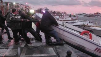İstanbul'da şiddetli lodos