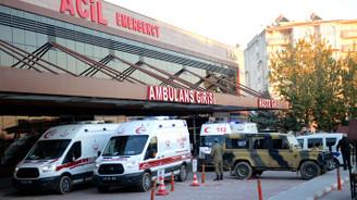 Yaralanan 5 Türk askeri Kilis'te