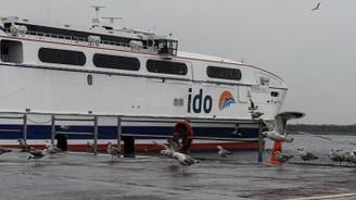 Deniz otobüslerine hava muhalefeti