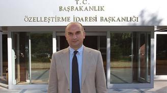 Özelleştirme İdaresi Başkanlığı'na Ahmet Aksu atandı