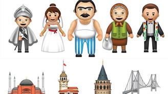 Türk kullanıcılara özel emoji klavyesi