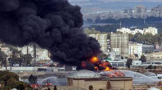 İsrail'de petrol rafinerisinde yangın