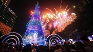 38 metrelik yılbaşı ağacı