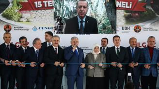Ilgaz Tüneli törenle açıldı