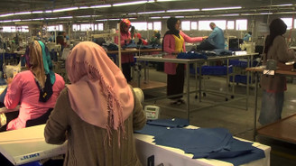Muş'tan tekstil ihracatı