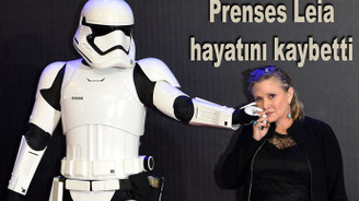 'Prenses Leia' hayatını kaybetti