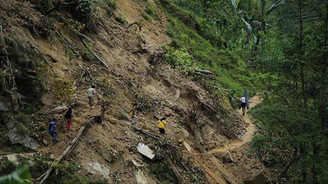 Kongo'da heyelan: 50 ölü
