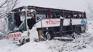 Sinop'ta otobüs uçuruma yuvarlandı: 5 ölü