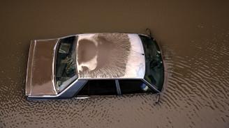 Sel Felaketi MOBESE kameralarında