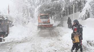 Doğu Karadeniz'de yarın yoğun kar bekleniyor