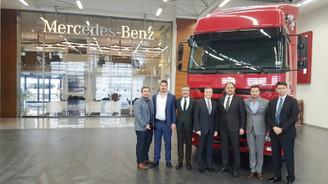 ABC Lojistik'ten 200 adetlik Mercedes-Benz çekici yatırımı