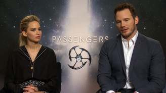 Jennifer Lawrence ve Chris Pratt'den Passengers röportajı
